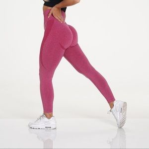 Crimson NVGTN seamless leggings